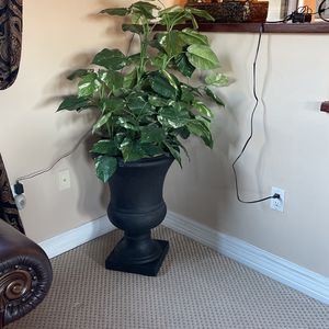 Large Fake Plant In A Black Pot, Home Garden for Sale in Phoenix, AZ