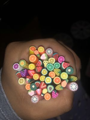 Nail Art Fruit Slices/Nail Art Flower slices / Fruit Slices Canes for Sale in Dallas, TX