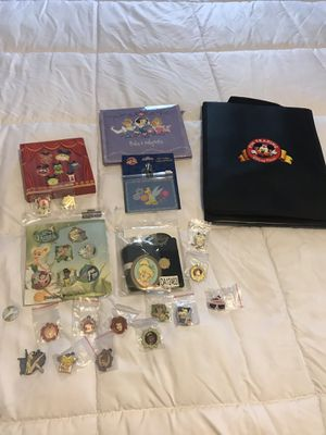 Disney pin trading collections for Sale in Dracut, MA