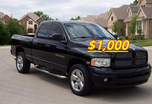 🙏🏼Very good condition 2004 Dodge Ram I sell my family car excellent Clean Tittle{$1000}🔑🔑 for Sale in Washington, DC