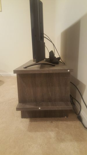 Gray TV stand for Sale in Rockville, MD