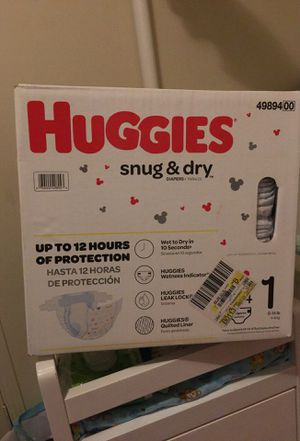 Huggies one month diapers/ pampers for Sale in East Compton, CA