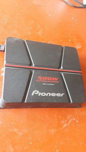 Pioneer 2 ch amp for Sale in Donna, TX