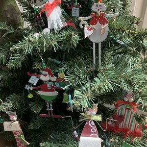 14 new whimsical cat ornaments 6 to 9 inches tall for Sale in Fresno, CA