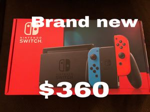 Nintendo Switch brand new V2 for Sale in Houston, TX