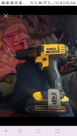 Dewalt Drill like new with battery - no charger for Sale in Denver, CO