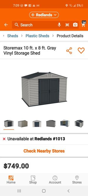 Brand New shed for Sale in Redlands, CA