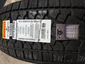 "20"" Pirelli Scorpion ATR 275 55 20 Brand New Tires 275/55R20 All Terrain for Sale in Villa Park, CA"