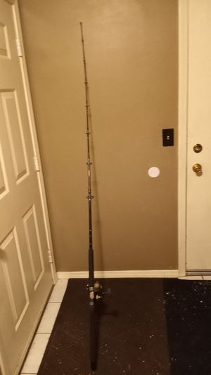 Salt water fishing rod for Sale in Denver, CO