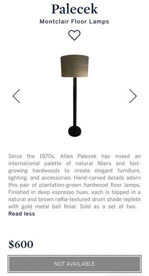 Palecek Floor Lamp for Sale in Denver, CO