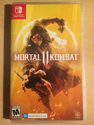 Opened USED ONCE Mortal Kombat 11 for Sale in Santa Ana, CA