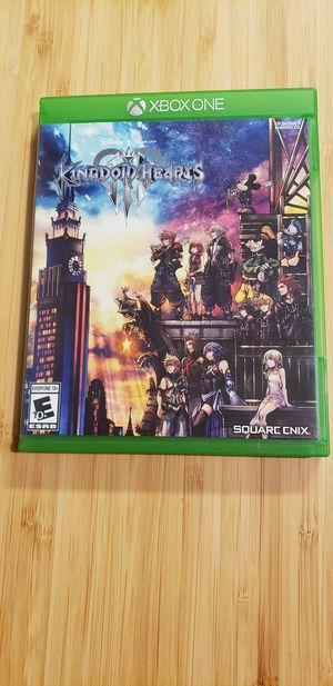 Kingdom Hearts 3 for Xbox One for Sale in Austin, TX
