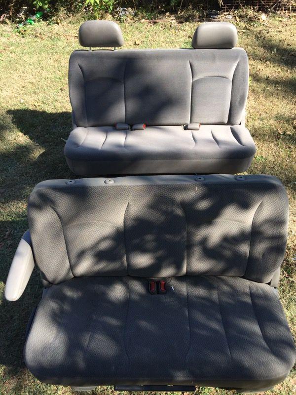 Dodge Caravan Rear Seats