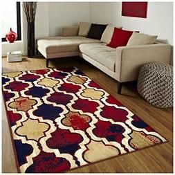 Red Blue Tan 8x10 Rug for Sale in Alexandria, VA