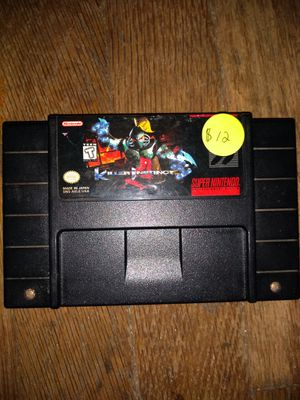 Killer instinct super Nintendo game make sure you check out my other offers for Sale in Kansas City, MO
