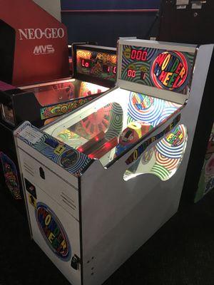 Wonder wheel video arcade redemption ticket game for Sale in Fresno, CA