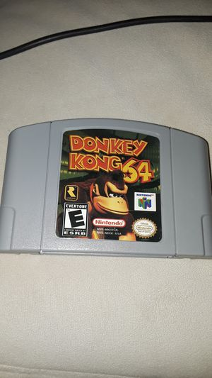 donkey kong 64 for Sale in Irvine, CA