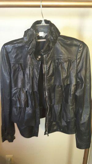 Diane von Furstenberg Lambskin Leather Jacket for Sale in Sanger, CA