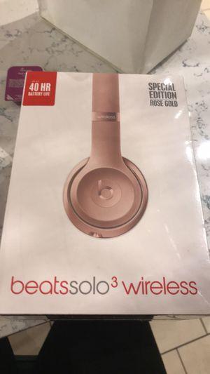 Beats solo 3 wireless headphones for Sale in Lakehurst, NJ