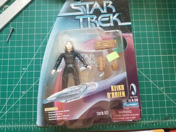 Retro action figures (star trek, aliens, xena)