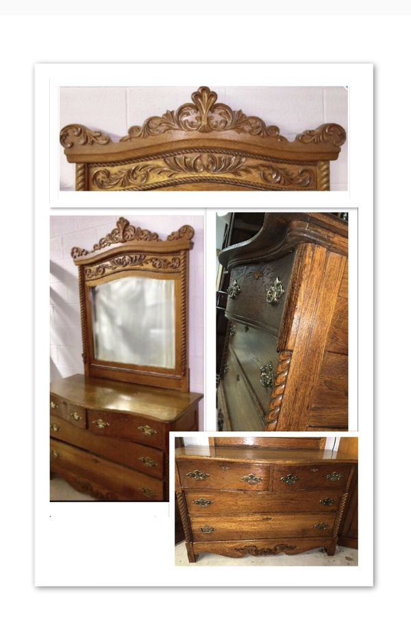 dresser antique oak