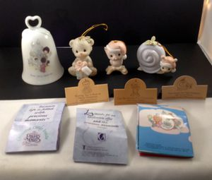 4 Precious Moments Small Ornaments - $15 ALL for Sale in Laurel, MD