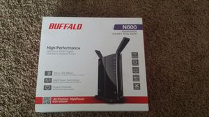 Brand new Buffalo WZR-600dhp retails for $90 for Sale in Morton, IL