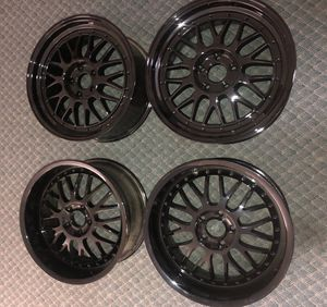 18 inch wheels staggered set 5x112 for Sale in Kittanning, PA