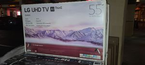 """55"""" LG 4k UltraHD Smart HDR LED TV for Sale in San Diego, CA"""