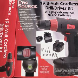 NEW Cordless Drill/Driver Kit for Sale in Henderson, NV