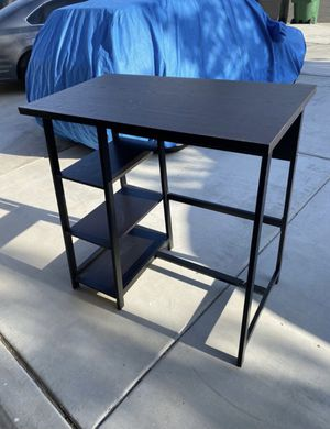 Standing Brown Office Desk for Sale in Corona, CA