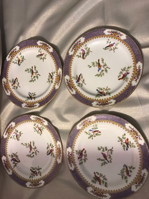 (4) Antique Spode Copeland's China England Porcelain Plates W/Birds for Sale in Winter Springs, FL
