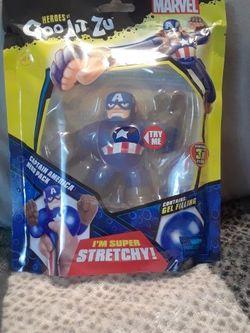Captain America Goo Jit Zu Marvel for Sale in San Antonio,  TX