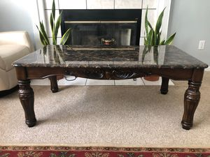 Coffee Table with 2 End Tables for Sale in Riverview, MI