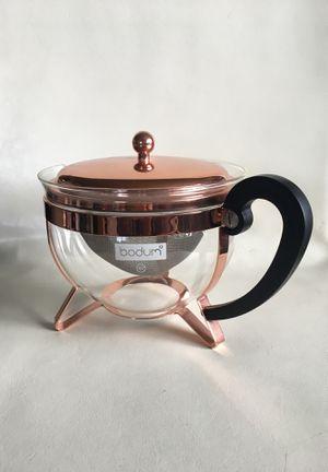 BODUM Copper Tea Pot NEW for Sale in Los Angeles, CA