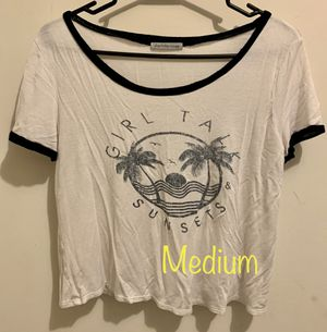 Medium Crop Top T-Shirt for Sale in St. Peters, MO