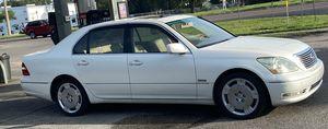 Lexus Ls430 pearl white 2004 158k for Sale in Ruskin, FL