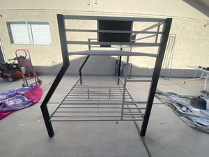 Metal Frame Bunk Bed for Sale in Las Vegas, NV