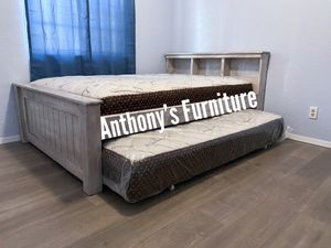 Full bed & twin roll out mattress for Sale in Huntington Park, CA
