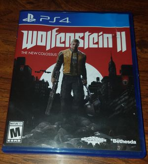 Wolfenstein 2 The New Colossus for PS4 for Sale in Largo, FL
