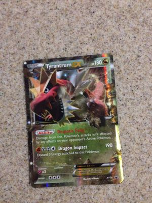 Pokemon Tryantrum Ex for Sale in Fresno, CA