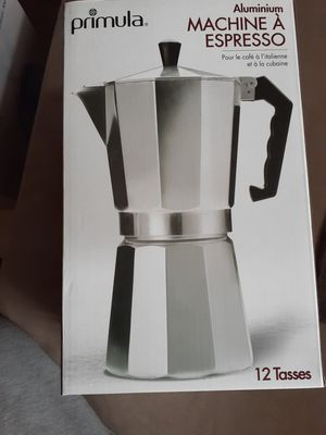Primula Aluminum Espresso Maker for Sale in Greenwood, IN