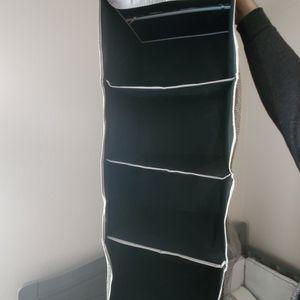 Foldable Black Canvas Closet Organizing Shelf for Sale in Federal Way, WA