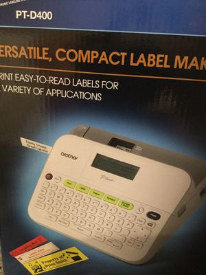 PT-D400 brother p touch label maker brand new for Sale in Los Angeles, CA
