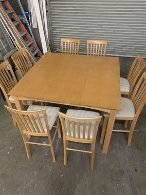 Dining table w 8 chairs for Sale in Santa Ana, CA