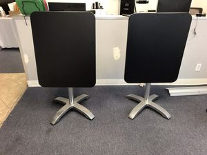 2 foldable restaurant tables for Sale in Los Angeles, CA