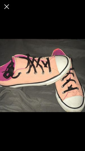 Girls Converse shoes size 2 for Sale in Hillsville, VA