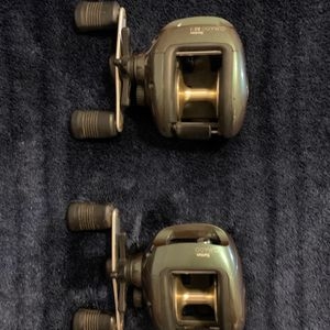 LOT Of 2 Shimano Bantum Curado Baitcaster Reels. Great Condition. for Sale in Chesterfield, MO