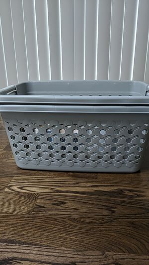 Two laundry baskets for Sale in Monroe, WA