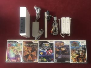 Nintendo Wii System with Games for Sale in Costa Mesa, CA